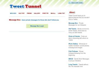 Thumbshot of Tweettunnel.com