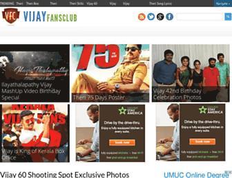 Thumbshot of Vijayfansclub.com