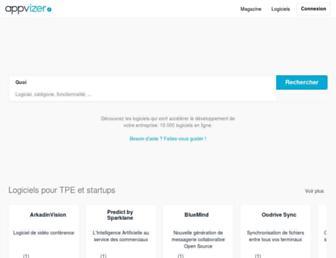 appvizer.fr screenshot