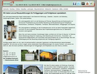 Main page screenshot of partnerlinks.net