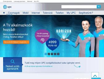 upc.hu screenshot