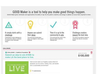 maker.good.is screenshot