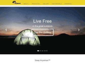 tarptent.com screenshot