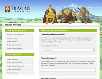 answers.travian.kr screenshot