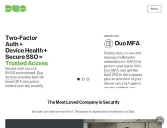duo.com screenshot