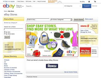stores.ebay.com screenshot