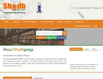 shodhganga.inflibnet.ac.in screenshot