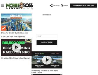 mobilegamingboss.com screenshot