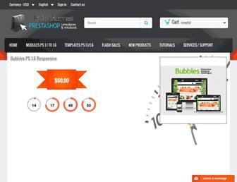 Main page screenshot of catalogo-onlinersi.com.ar