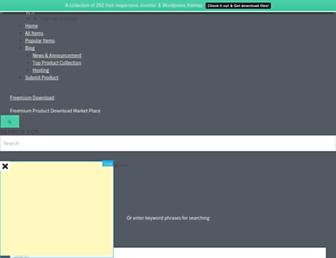 freemiumdownload.com screenshot