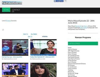 pakdramasonline.com screenshot
