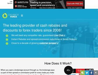 Thumbshot of Cashbackforex.com