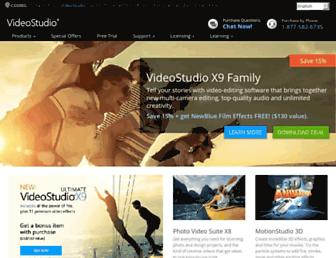 videostudiopro.com screenshot