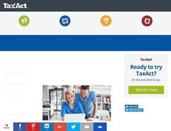 blog.taxact.com screenshot