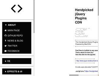 jque.re screenshot