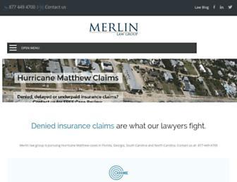 merlinlawgroup.com screenshot