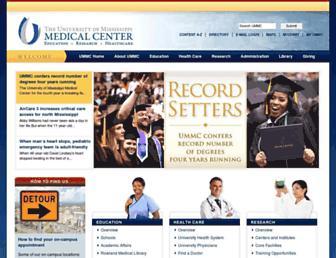 umc.edu screenshot