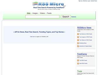 Thumbshot of Rssmicro.com
