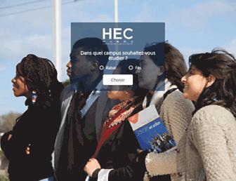 hec.ac.ma screenshot
