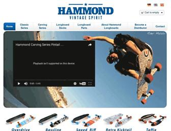 hammondboards.com screenshot