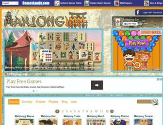 mahjonginn.com screenshot