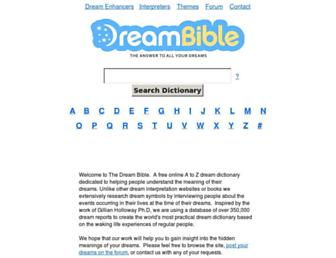 Thumbshot of Dreambible.com