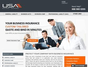businessinsuranceusa.com screenshot