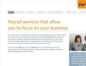 paycheck.co.uk screenshot