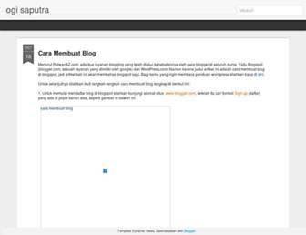 ogisaputra25.blogspot.com screenshot