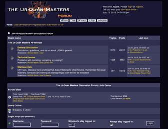 forum.uqm.stack.nl screenshot