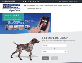 hotondo.com.au screenshot