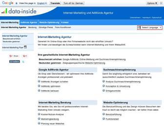 internet-marketing-inside.de screenshot