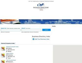 india-webbusiness.com screenshot