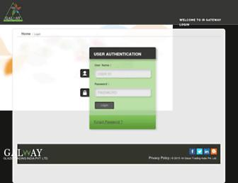 login.globalglaze.in screenshot