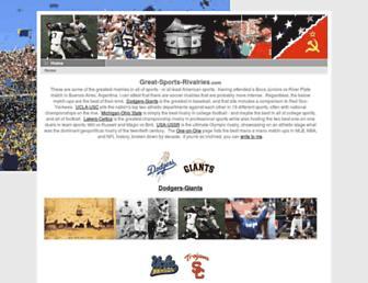 great-sports-rivalries.com screenshot