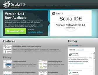 Thumbshot of Scala-ide.org