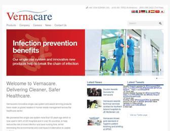 vernacare.com screenshot