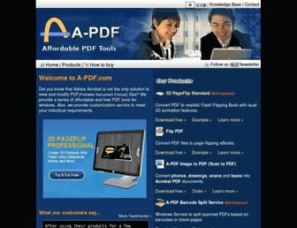a-pdf.net screenshot