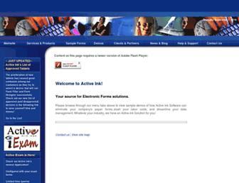 activeink.net screenshot