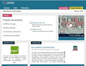 iquesta.com screenshot