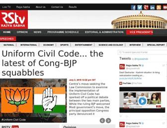 Thumbshot of Rajyasabhatv.com