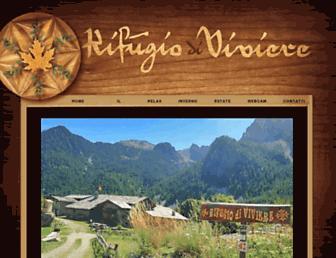 rifugiodiviviere.com screenshot