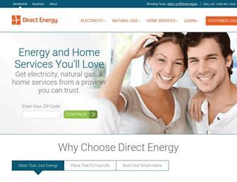 Thumbshot of Directenergy.com