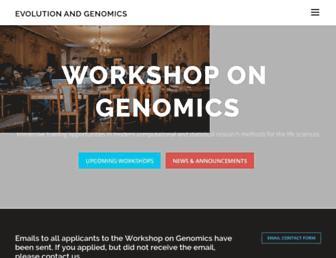 evomics.org screenshot