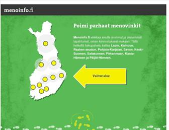 Thumbshot of Menoinfo.fi
