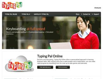 typingpal.com screenshot