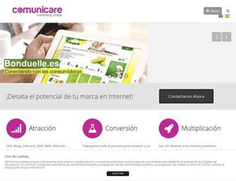 comunicare.es screenshot