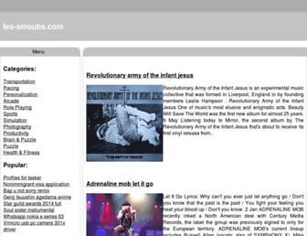 les-smoubs.com screenshot