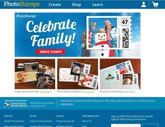 photo.stamps.com screenshot