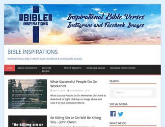 bibleinspirations.org screenshot